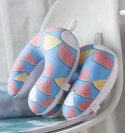 Accesorios para niños Bebé vuelo Almohadas en forma de U Niñas pequeñas Confort Protección para el cuello U Almohadas para 2-10 años Envío gratuito desde fabricantes