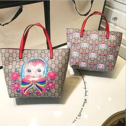 Canada Nouveau modèle à la mode mère fille rétro poupée bande dessinée impression filles sacs à main sac de shopping adulte et enfant parent-enfant cheap adult shop dolls Offre