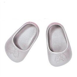 Wholesale Baby Shoes Toys - Hot sell 1pair gray shoes fit 43cm Baby Born zapf, Children best Birthday Gift LH122