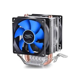 Wholesale Intel Am3 - Deepcool 2 heatpipe, for Intel LGA775 1155 1156 1150, for AMD FM1 FM2 AM3+ AM2+, CPU radiator CPU Fan, ice mini Ultimate