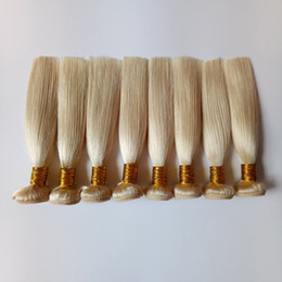 Bellezza Virgin Brazilian Honey Blonde Visone Malese Capelli Umani 8-18 pollice Indiano trama di capelli remy 10 pacchi / lotto # 613 tesse prezzo a buon mercato cheap brazilian hair prices blonde da capelli braziliani dei capelli biondi fornitori