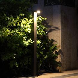 semplici luci da giardino Sconti Lampada da giardino esterna a Led Light 220V 6W Paesaggio luci da giardino percorso luci illuminazione semplice erba
