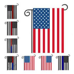 30 * 45 cm ABD Bayrakları parti dekorasyon Mavi Çizgi ABD Bayrağı Siyah, beyaz Ve Mavi Amerikan Bayrağı Bahçe bayrağı Kreş veranda Dekor B11 supplier black nursery decor nereden siyah kreş dekor tedarikçiler
