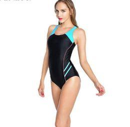 b21908b6abf7a Maillot Athletic Training Trikini Sport Swimsuit One Piece Bathing Suit  Women Monokini Racing Plus Size Swimwear Badeanzug