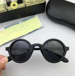 02fd16445e MOSCOT ZOLMAN polarized sunglasses star-style Japan-korean retro round frame  M S sizes unisex prescription glasses pure-plank fullset case