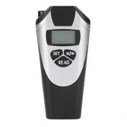 Wholesale ultrasonic meters - Handheld CP-3009 laser rangefinder construction tools Ultrasonic Distance Meter Measurer Range finder w Laser Point