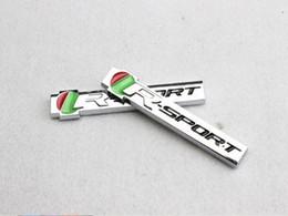 Wholesale Jaguar Badges Emblems - Car Styling R SPORT Metal Rear Emblem Badge Sticker For Jaguar