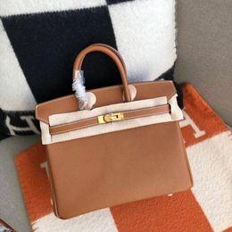 Designer célèbre 100% couture noire sac à main en cuir véritable noir de luxe epsom classique BK femmes sac à bandoulière en cuir véritable 25cm30cm35cm ? partir de fabricateur