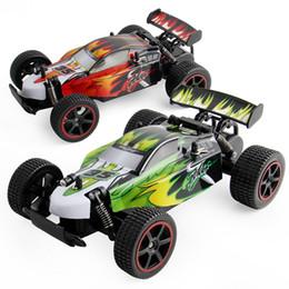 Revestimiento de gas online-Mini control remoto del coche de los niños RC 1:18 2 colores evitación del choque de alta velocidad con la batería y la línea del Usb