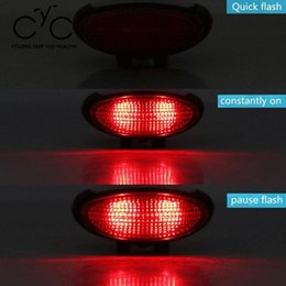 Wholesale Gps Tracking Theft - 4 in 1 Vibration Alarm Bike Taillight Anti-theft GPS Tracking Wireless Intelligent Phone Control Waterproof Warning Taillight