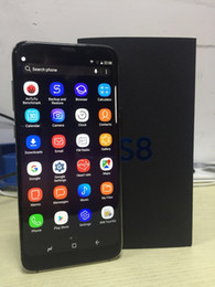 Wholesale Smart Phone 4gb Ram - Goophone S8 5.8 inch MTK6580 Unlocked cell phone Quad Core Android 1G Ram 4G Rom show 4G LTE smart phone mobile