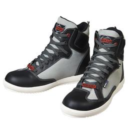 KERAKOLL Motorcycle Racing Shoes New 4 Season Leather Moto Casual Boots Suede Motocross Shoes Men classic Piel de vacuno desde fabricantes