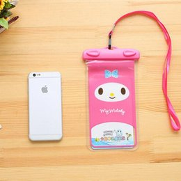 Wholesale Armband Cell Phone Covers - Animal Waterproof case Universal Water Proof Bag armband pouch Cover For all iphone Cell Phone bag