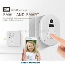Wholesale Doorbell Intercom Vision - 2017 New Housing HD 1080P Video Door Phone Intercom Wifi Doorbell Home Security Night Vision Wireless Doorbell Doorphone