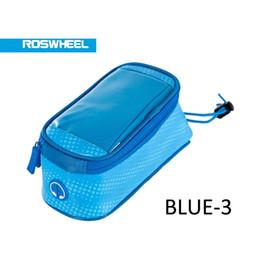 Wholesale Top Tube Bag Phone - ROSWHEEL Wings Series Bicycle Smart Phone Bag Phone Case Bicycle Top Tube Phone Bag Holder Sport style bag