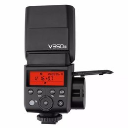 Wholesale Speedlite Ttl - Godox V350S TTL 2.4G Li-ion Camera Speedlite Flash with Built-in Rechargeable Battery for Sony a7RIII a7RII a7R a58 a99
