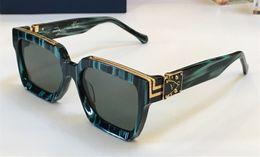 2019 золотой топ Luxury MILLIONAIRE M96006WN Солнцезащитные очки полный кадр Винтажные дизайнерские солнцезащитные очки для мужчин Shiny Gold Logo Горячее надувательство Позолоченный топ качества 96006 дешево золотой топ