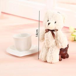 Wholesale Wedding Soft Teddy Bears - Lomax Cute Small Teddy Bears Plush Soft Toys Pearl Velvet Teddy Dolls For Children Girlfriend Gifts Wedding