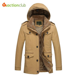 Großhandels- Neue Ankunfts-Winter-Jacken-Mann-große Größe 5XL 6XL warme  Jacke für Männer Windproof Hood-beiläufige Mantel-Verdickung-Baumwolljacke  ... a852eb5fb3