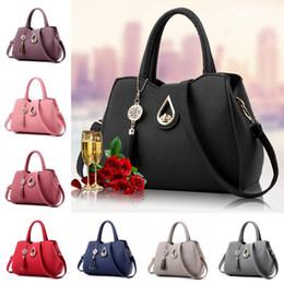 Wholesale classic yoga - High Quality 10 Styles Women Tassl Pendant Shoulder Bags Classic Style Female Handbag Luxury Designer Women Crossbody Bag Free DHL G157S