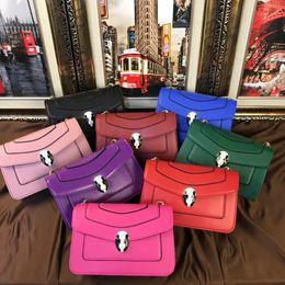 Wholesale Blue Ribbon Cartoons - 2018 Luxury famous tide Brand designer snakehead Classic Handbags Shoulder Bag Bags Purse girl lady women wallet Bvl180401001AWJ