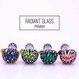 Wholesale Colorfull Glasses - 80g colorfull glass smoking pipes hand-make tobacco pipe marble glass pipes for smoking with great price