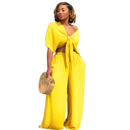 dc830aaf655c China Two Piece Tracksuits For Women Deep V Neck Short Sleeve Crop Top+Elastic  Waist
