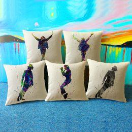 Süperstar Marilyn Monroe Michael Jackson Minder Kapak Audrey Hepburn Ofis Ev Dekoratif Kanepe için Atmak Yastık Yastık Kılıfı nereden