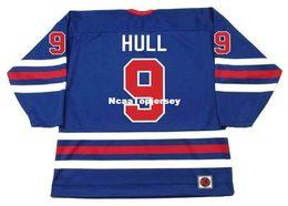 рейнджерс джерси брассард Скидка Мужские трикотажные изделия BOBBY HULL Winnipeg Jets 1974 WHA Ретро-хоккейный трикотаж
