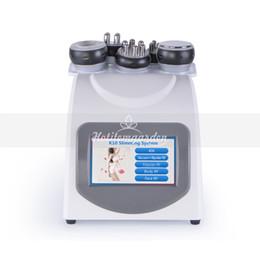 Deutschland Pro 5in1 Bipolar Sixpolar RF Radiofrequenz-Hautpflege-Vakuum-40K Kavitationsfettverlustkörper, der Maschine abnimmt Versorgung