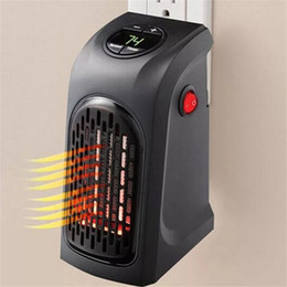 Wholesale Infrared Room Heaters - Mini Handy Heater Plug-in Personal Heater Home Use The Wall-outlet Space Heater 350W Hotel Kitchen Bar Bathroom Handy Heaters 2702003