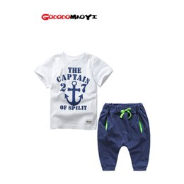 Wholesale Teen Boys T Shirt - 2016 Clothing set Clothes Boys Set T-shirt Shorts & short Pants Costumes casual Teen Clothing children's wear Spring Autumn