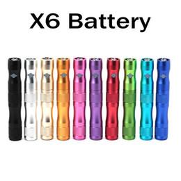X6 Bateria para o Cigarro Eletrônico 1300 mAh VV Bateria 3.6 V 3.8 V 4.2 V Tensão Variável para o Cigarro Eletrônico para ego vaporizador de