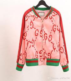 Wholesale Leather Bomber Jacket Women - Harajuku windbreak Womens Jacket spring 2017 Zipper Coat Female Tops Causal Sweatshirts bomber jacket chaquetas mujer