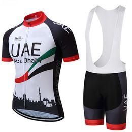 bicicleta voadora Desconto 2019 UAE fly equipe Emirates ciclismo clothing bicicleta jersey quick dry mens bicicleta roupas de verão ciclismo jersey gel calções de bicicleta