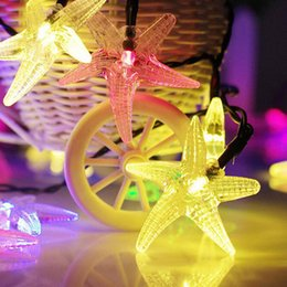 Wholesale Fishing Strings - Novelty LED Light-up Toys 1 String Star Fish Toy Lamps for Party