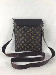 Wholesale envelope satchel - Luxury Brand Men's Shoulder Bags Satchels Men Women Messenge Bags Designer Female Vintage Satchel Bag Canvas Crossbody Shoulder Bags