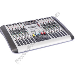 Wholesale Audio Power Line - MICWL New 12 Channel 7-Band EQ Audio Music Mixer Mixing Console XLR LINE Input 48V Phantom Power for Recording DJ Stage Karaoke