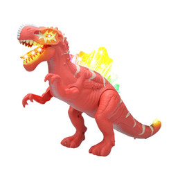 Wholesale Battery Operated Toy Animals - PVC Electronic Dinosaur Robot Toy, Electric Dinosaurs With Light & Sound, Electronic Animal For Games, Hot Toys Beriqneudos Gift