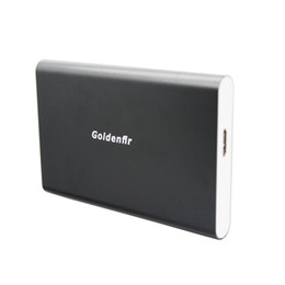 Wholesale Usb Hdd Drivers - Goldenfir portable 2.5 inch SATA to USB 3.0 HDD case hard disk enclosure Mobile SSD driver External HardDrive box support SSD HD
