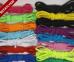 2019 bolsas de regalo de tela de encaje Cuerda elástica de 10 metros de cuerda elástica para accesorios de bricolaje Costura manualidades decorativas
