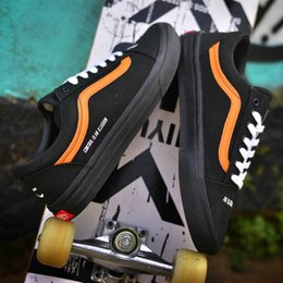 Wholesale Post Springs - Vans Old Skool Post Mortem Skate Shoes Classic Mens Sneakers Skateboarding Men And Women Running Sneakers With Box
