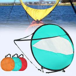 Kayak à pédines en Ligne-Planche à voile gonflable Voile Scout Downwind Wind Paddle Aviron Bateau gonflable Popup Canoe Kayak Accessoires