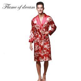 e9ffe3c1f6da403 Искусственный шелковый халат мужской мужской халат халат для мужчин халат  для мужчин китайский искусственный шелк 310