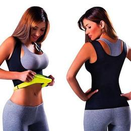 Wholesale Burns Vest - Wholesale- Women Breast Care Abdomen Fat Burning Fitness Vest Body Stretch Shapewear smt 87