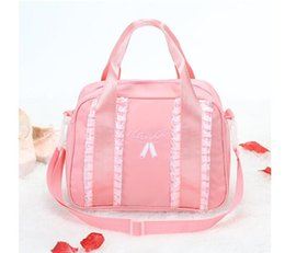Baby Kid Pink Clutch Bags Fashion Ballet Dancing Crossbody Women Lace Bags  For Kids Ladies Handbags casual Bags Messenger Bag Free Shipping a9e3dfea9703f