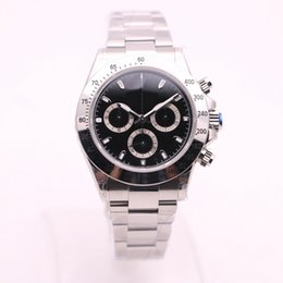 Wholesale Product Tags - 2018 new products 39mm Mans luxury brand watch automatic No battery watch Small dial work sweeping movement AAA Watches model 1484