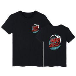 Wholesale Summer Long Shirt Simple Designs - Hip Hop Spring Summer Men's T shirt Simple Design Printing Basic Crew Neck Short Tee Breathable Men Streetwear