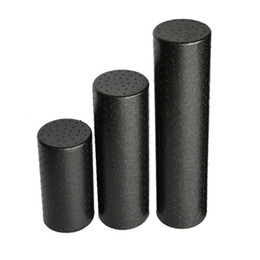 Blocco di massaggio online-30/45 / 60cm Yoga Block Roller Eva Fitness Foam Roller Massaggio Pilates Body Exercises Gym con punti trigger Training