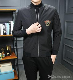 Argentina Otoño chaqueta de punto de los nuevos hombres guapo uniforme de béisbol tendencia de los hombres de moda juvenil cómoda chaqueta modelos de explosión 8056 cheap uniform models Suministro